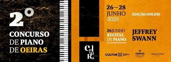 Concurso de Piano de Oeiras acontece em formato on-line