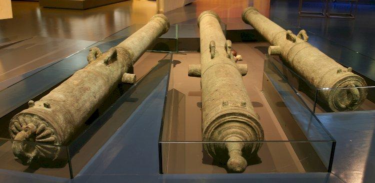 """Canhões classificados como """"Tesouro Nacional"""" expostos no Museu de Portimão"""