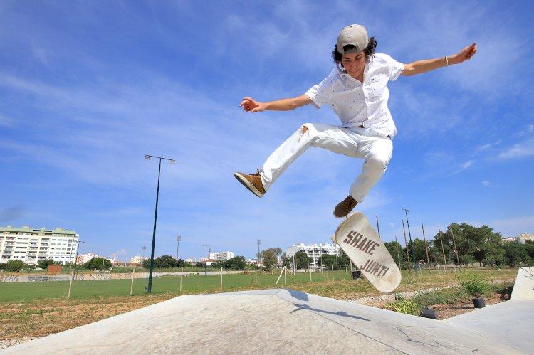 Skate Parque de Setúbal inaugurado no passado Sábado
