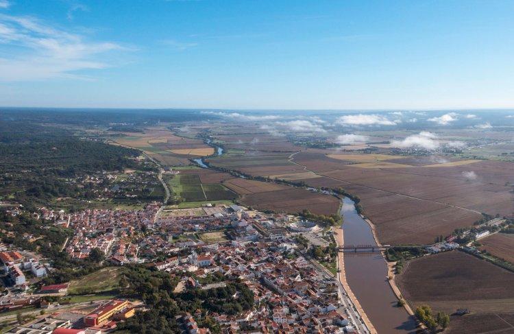 Pelos Trilhos de Portugal-Rotas do Sorraia, Coruche