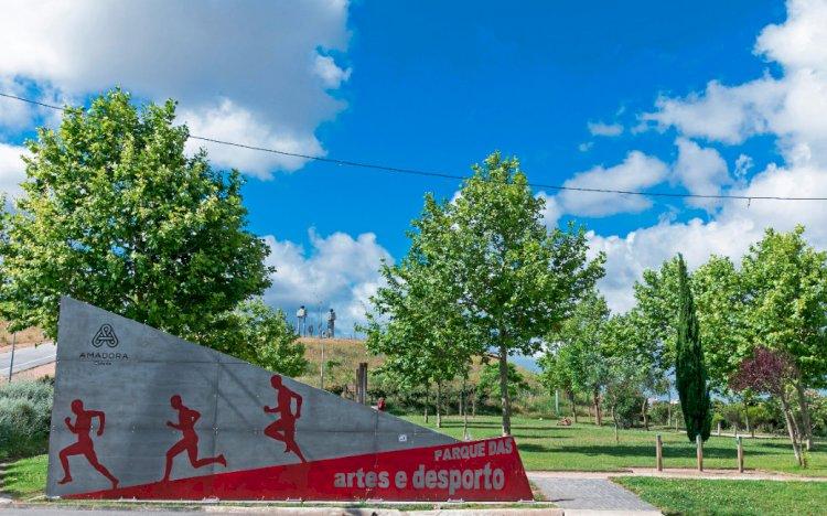 Pelos Trilhos de Portugal-Parque das Artes e do Desporto, Amadora