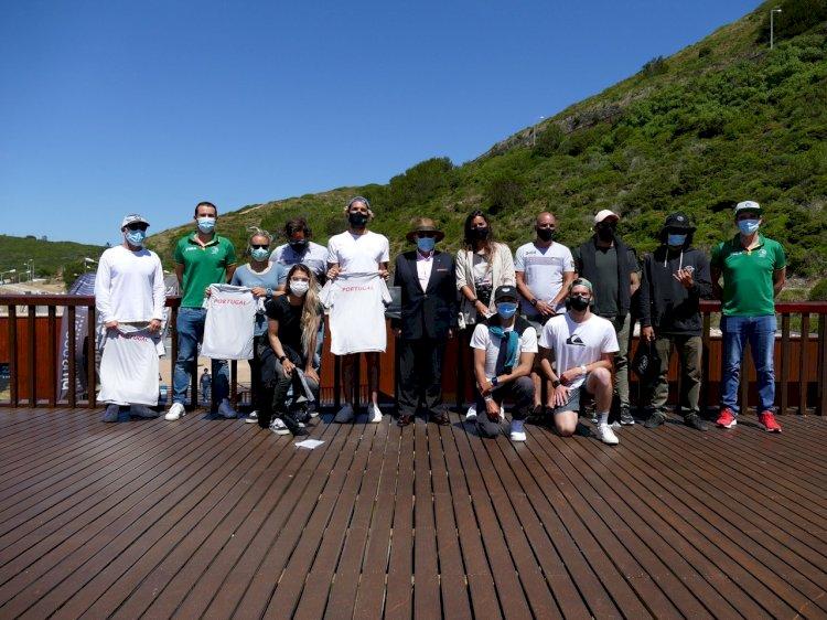 Comité Olímpico de Portugal reúne com surfistas na Ericeira