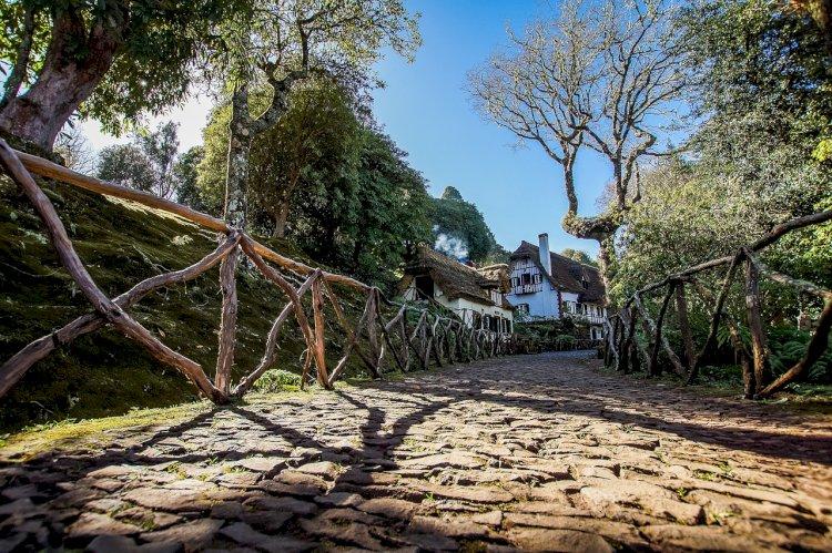 Pelos Trilhos de Portugal-Levada do Furado, Santana