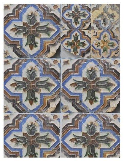 """""""Azulejaria do Século XVI"""" em exposição na Cripta Arqueológica de Alcácer do Sal"""