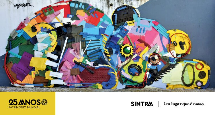 BORDALO II leva arte urbana à freguesia de Agualva e Mira Sintra