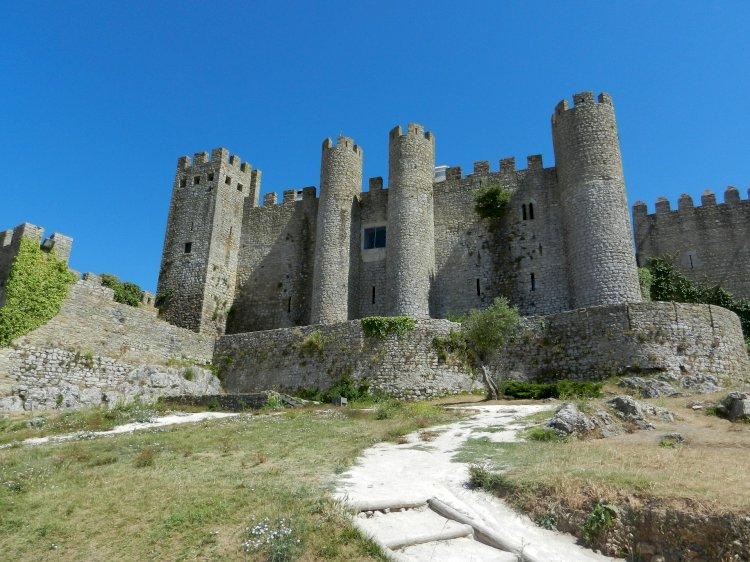 Uma visita ao passado, Castelo de Óbidos