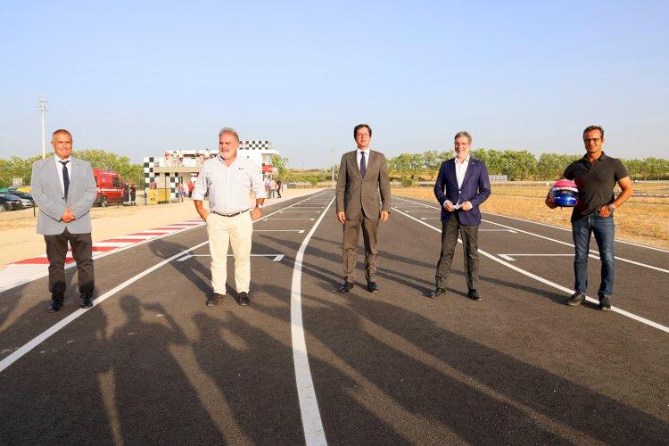 Castelo Branco inaugura Kartódromo e Pedro Lamy é embaixador