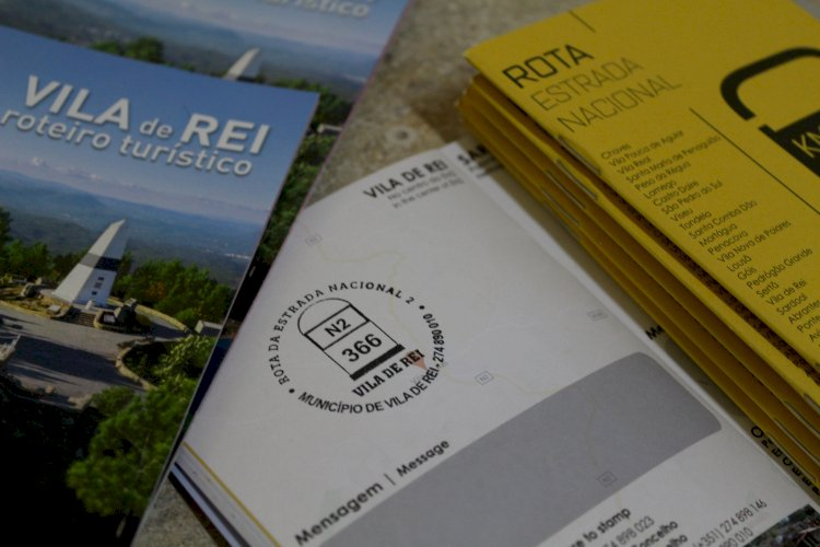 Município de Vila do Rei ofereceu carimbos personalizados da Estrada Nacional 2 aos estabelecimentos do Concelho