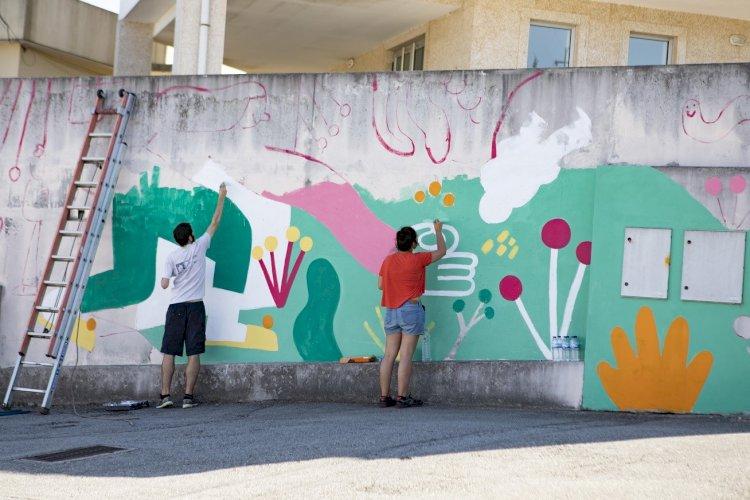 Viseu recebe 11 novas intervenções de street art, no CUBO MÁGICO