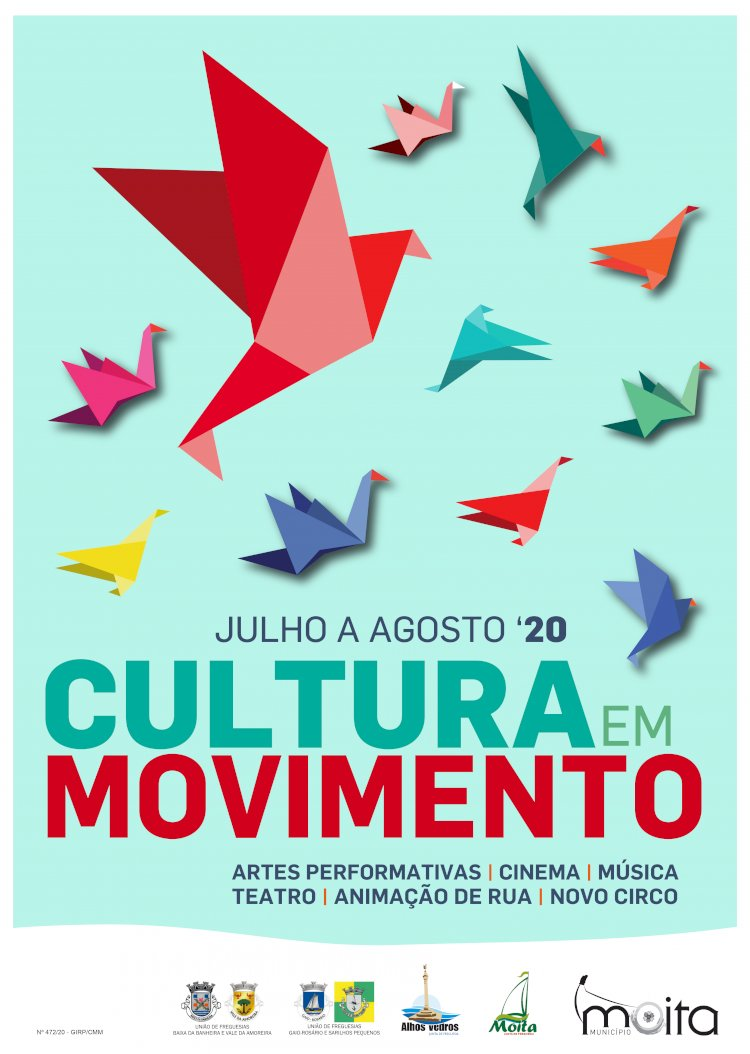 Cultura em Movimento 2020 regressa à Moita