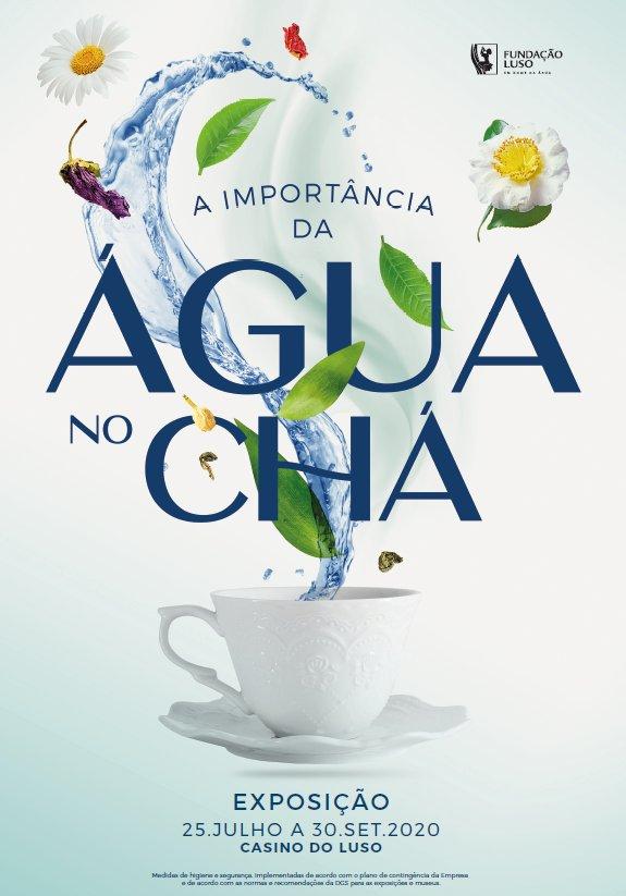 """Fundação Luso promove exposição sobre """"A Importância da Água no Chá"""""""