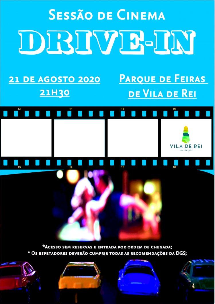 Parque de Feiras de Vila de Rei recebe sessão de Cinema Drive In