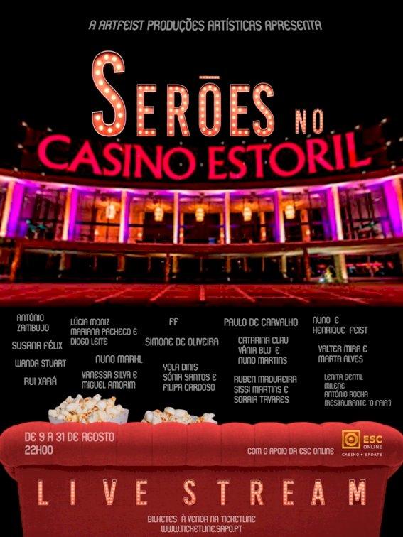 Casino Estoril propõe em live stream ciclo de concertos e stand-up comedy