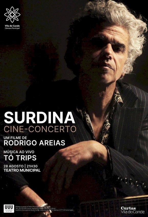"""Cine-concerto """"Surdina"""" com Tó Trips ao vivo"""