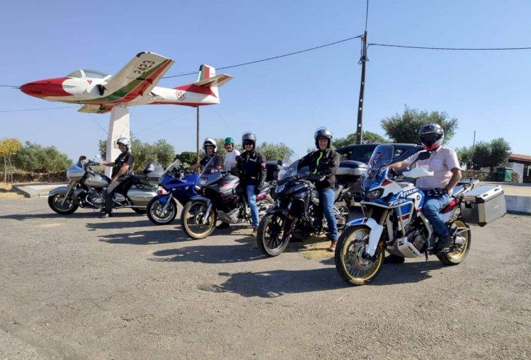 Passeio de moto na Rota das Misericórdias de Idanha-a-Nova