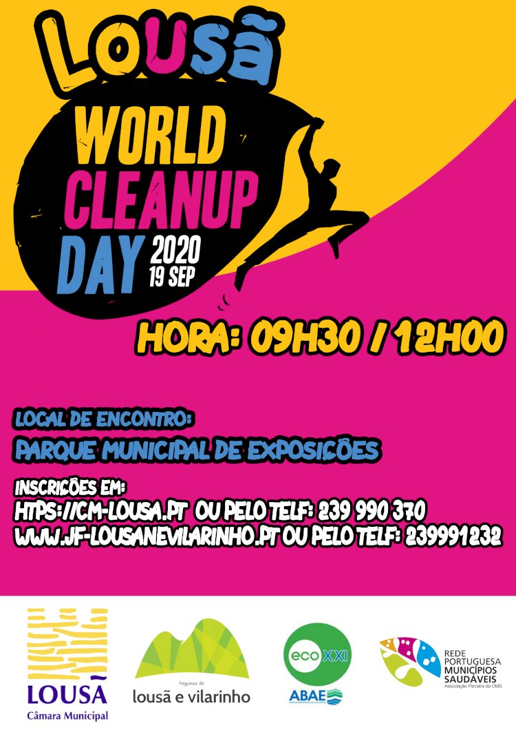 "Lousã celebra o ""World Cleanup Day"""