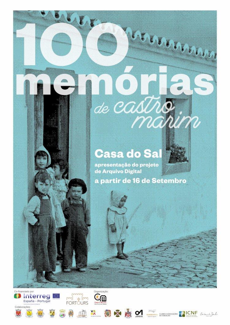 """""""100 Memórias"""", um novo projeto de Castro Marim inicia com exposição na Casa do Sal"""