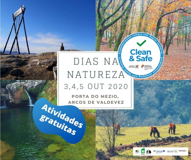 """Porta do Mezio organiza """"Dias na Natureza"""" com atividades gratuitas"""