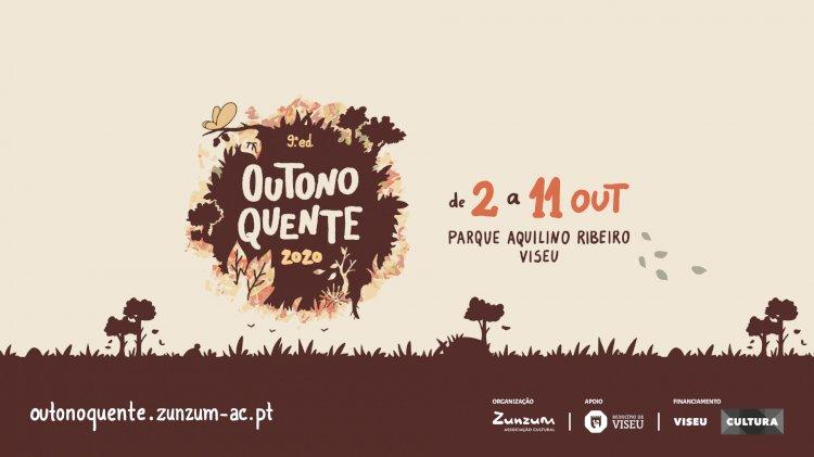 Festival Outono Quente de regresso a Viseu para a sua 9ª edição