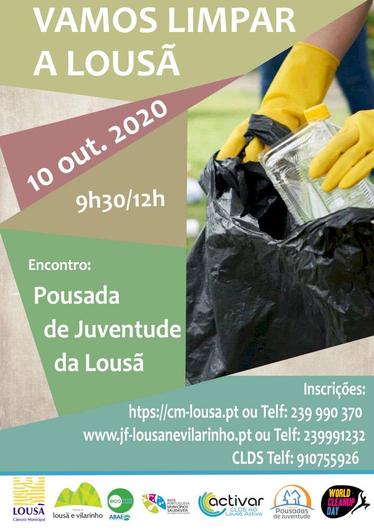 """Iniciativa """"Limpar a Lousã"""" tem lugar no dia 10 de outubro"""