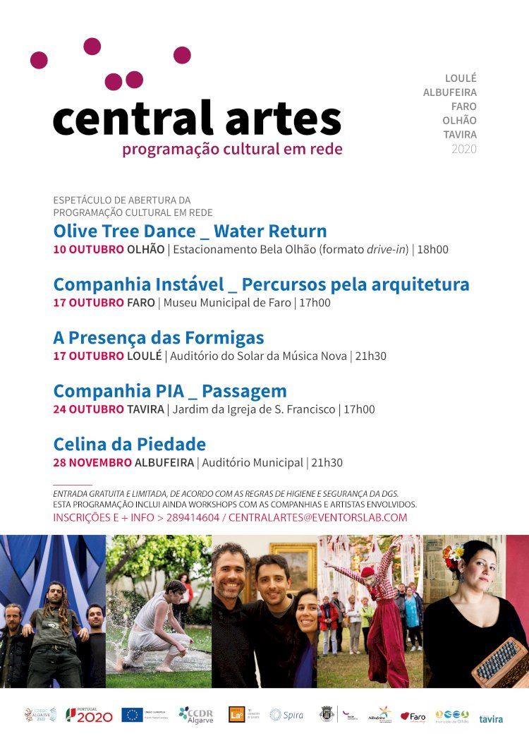 Olive Tree Dance apresentam espetáculo drive-in em Olhão