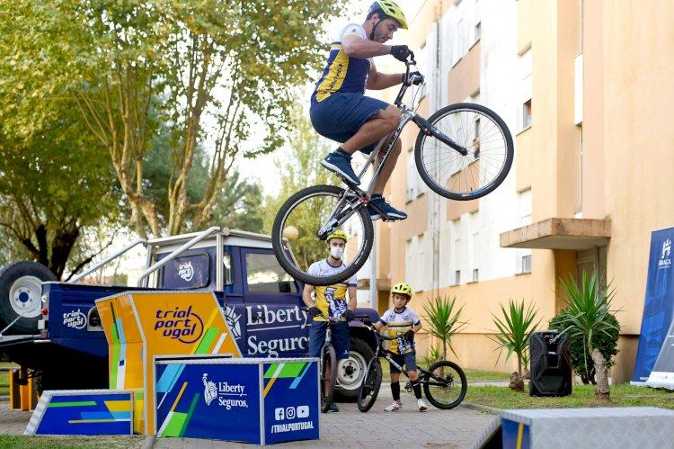 Projecto pioneiro Bike Atitude potencia prática de Trial Bike nos bairros de Braga