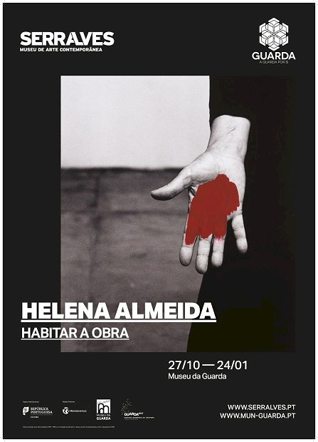 Museus da Guarda e Serralves apresentam Exposição da artista consagrada, Helena Almeida