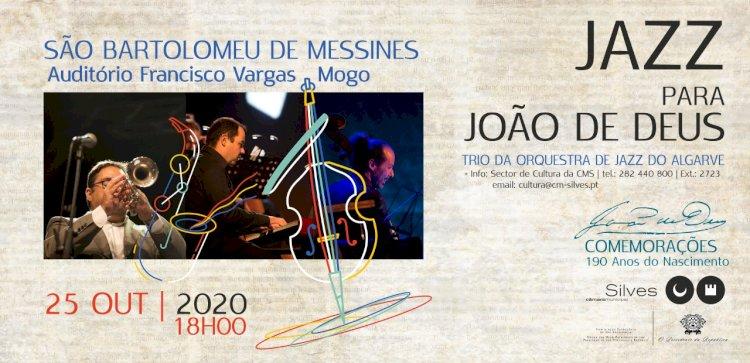 Trio da Orquestra de Jazz do Algarve celebra com concerto o 190º aniversário do poeta e pedagogo João de Deus