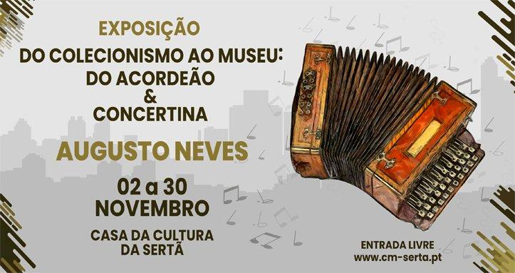 """""""Do Coleccionismo ao Museu: do Acordeão & Concertina"""" em exposição na Casa da Cultura"""