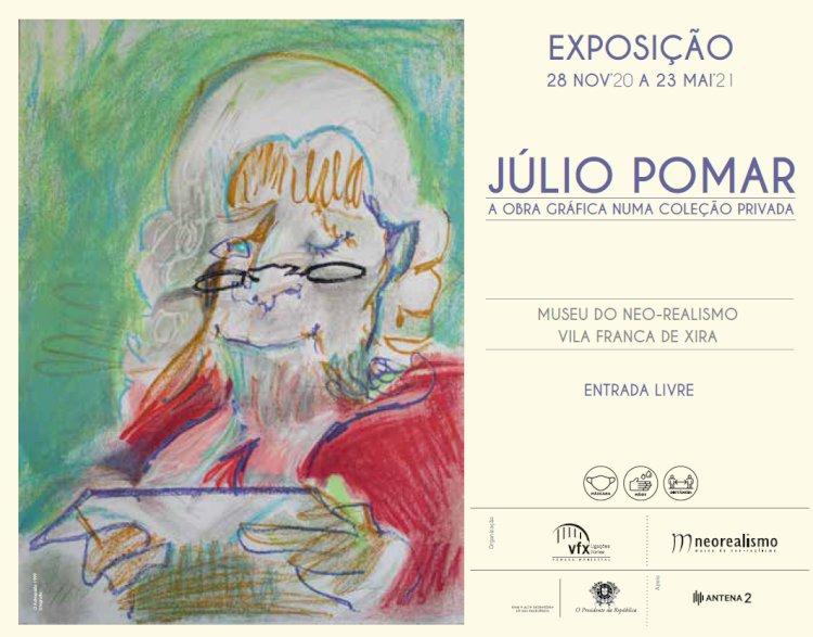 Júlio Pomar – A Obra Gráfica numa Coleção Privada para ver no Museu do Neo-Realismo, em Vila Franca de Xira