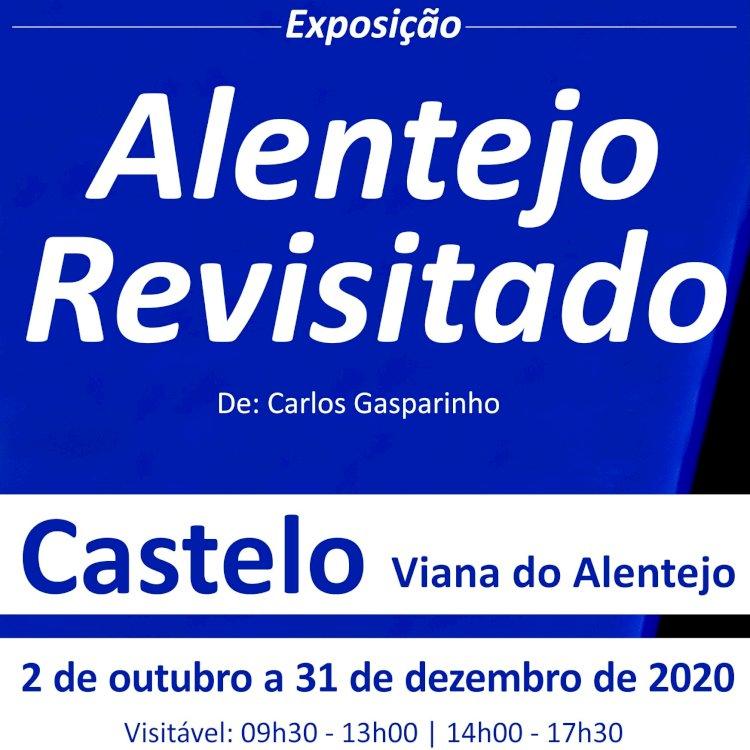 Carlos Gasparinho revisita o Alentejo em exposição no Castelo de Viana