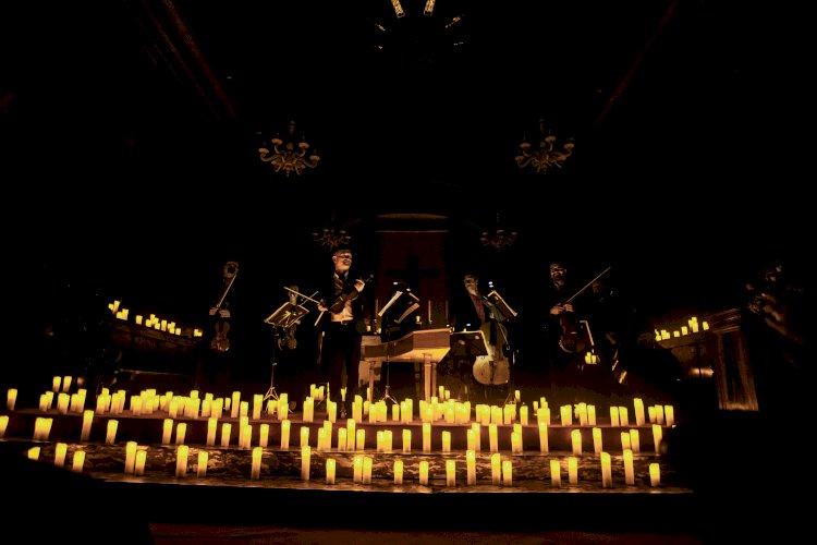 Bandas sonoras do cinema à luz das velas em Lisboa