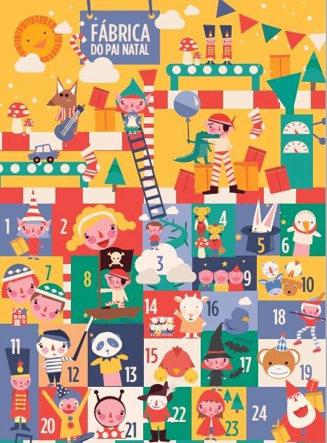 Fábrica do Pai Natal oferece histórias e aventuras aos mais novos
