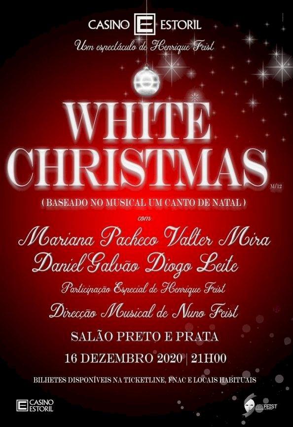 """""""White Christmas"""" em destaque no Salão Preto e Prata do Casino Estoril"""