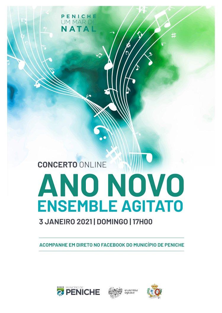 Concerto de Ano Novo online conta com estreia do Ensemble Agitato