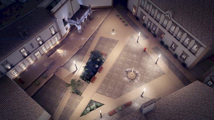 Reabilitação do Palácio Grão-Prior e do Largo do Município do Crato