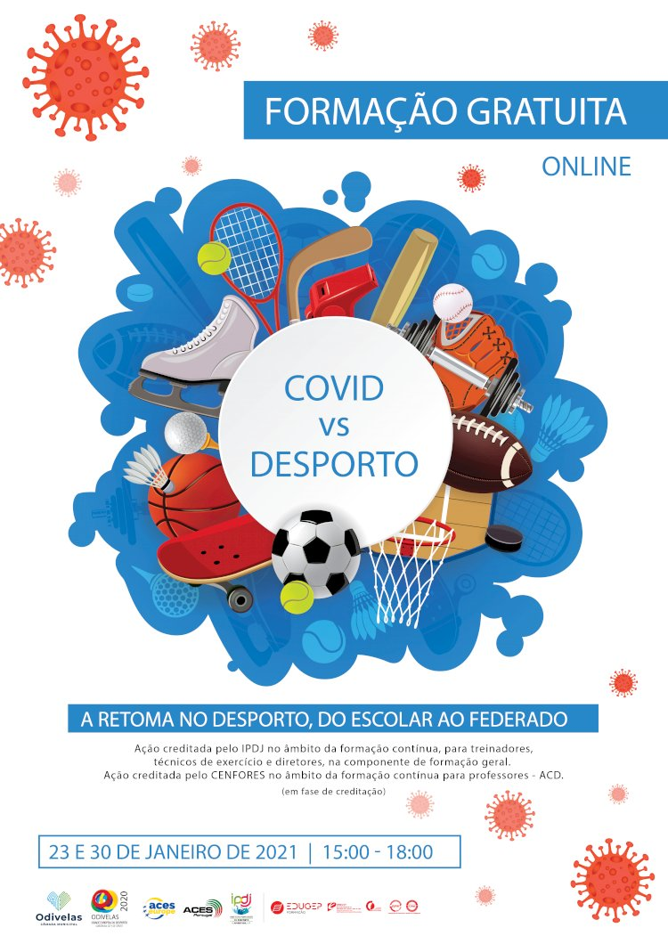 """Seminário online""""COVID-19 vs Desporto: A Retoma no Desporto, do Escolar ao Federado"""""""