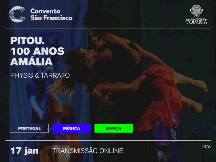Transmissão online de homenagem a Amália abre programação de Coimbra dedicada à UE