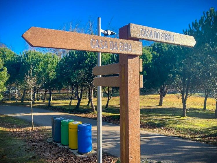Câmara instala nova sinalética no Parque do Rio Ul