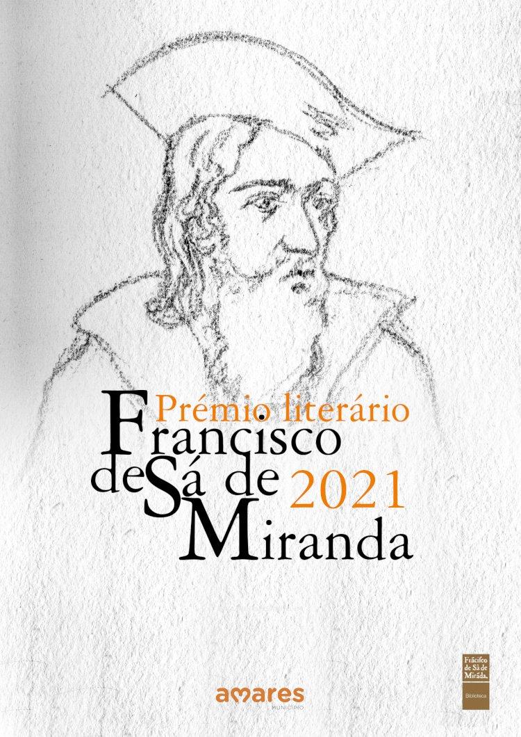 Abertas até 23 de Abril candidaturas para prémio literário Francisco de Sá de Miranda