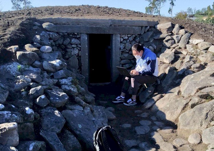 Missão Científica do Projecto Underground no Dólmen de Antelas