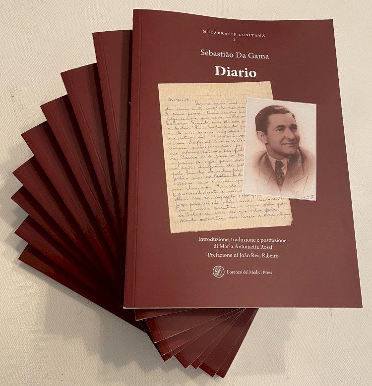"""Sebastião da Gama: """"Diário"""" inaugura coleção literária italiana"""