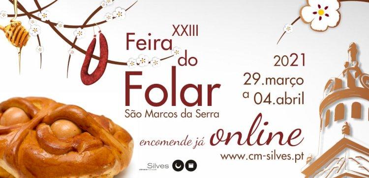 XXIII Feira do Folar de São Marcos da Serra realiza-se em formato digital