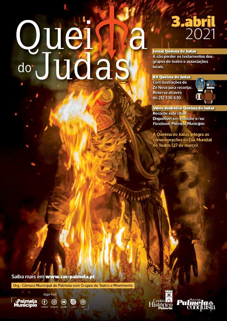 Município de Palmela e parceiros reinventam ritual da Queima do Judas