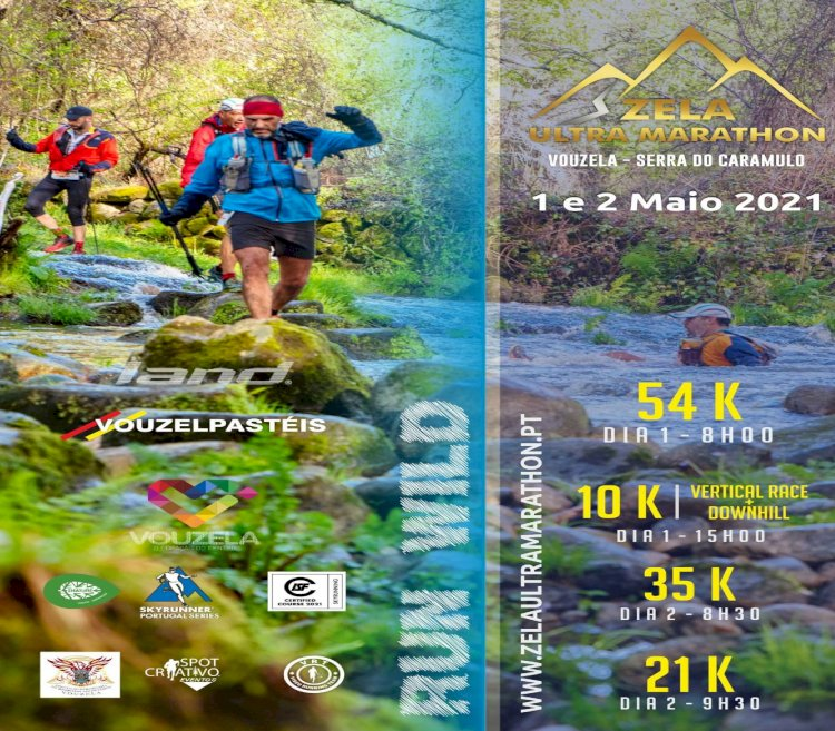 Vouzela recebe Zela Ultra Marathon nos dias 1 e 2 de Maio
