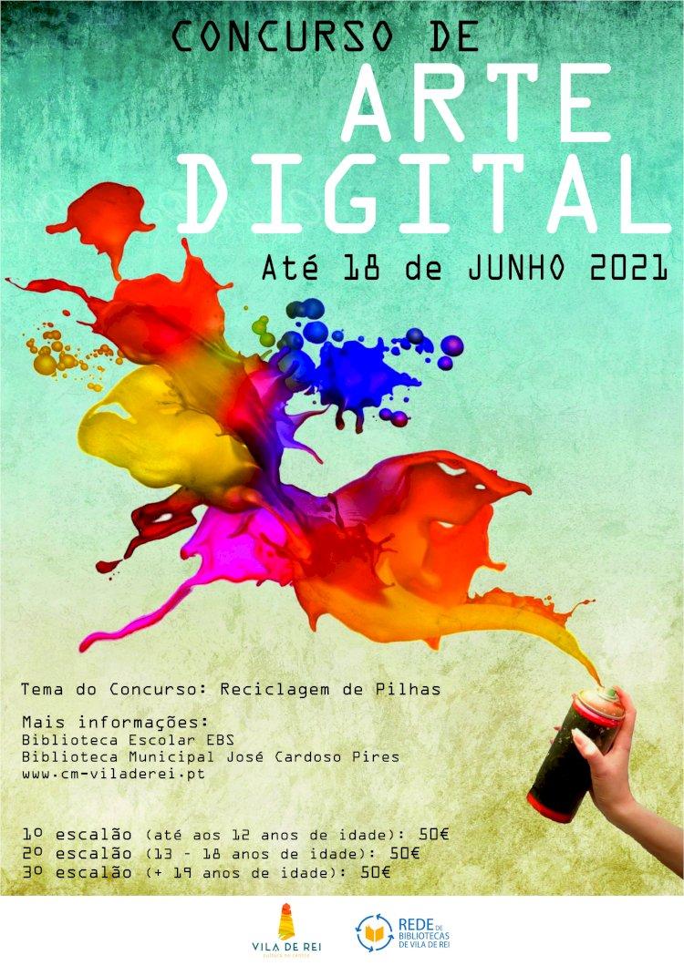 VII Concurso de Arte Digital de Vila de Rei