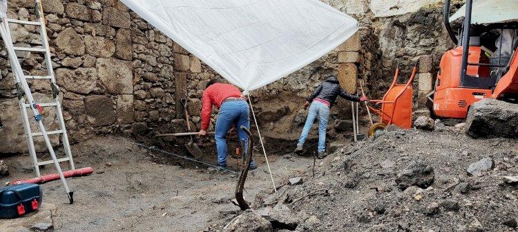 Câmara Municipal de Lamego efectua escavações arqueológicas na Casa do Horto