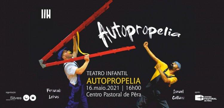 """Peça """"Autopropelia"""" sobe ao palco do Centro Pastoral de Pêra"""