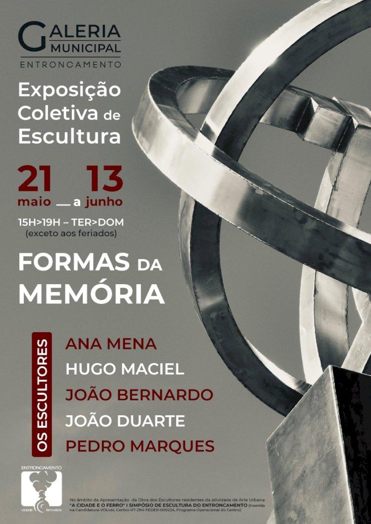 """""""Formas da Memória"""" na Galeria Municipal do Entroncamento"""