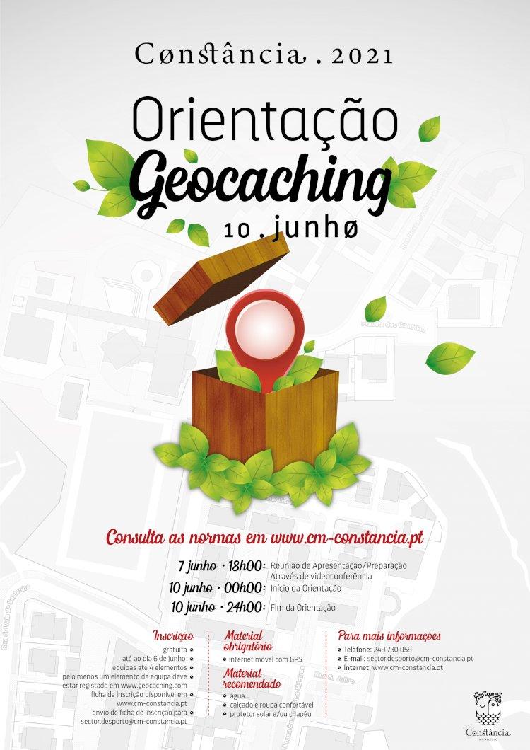 Orientação Geocaching em Constância no dia 10 de Junho